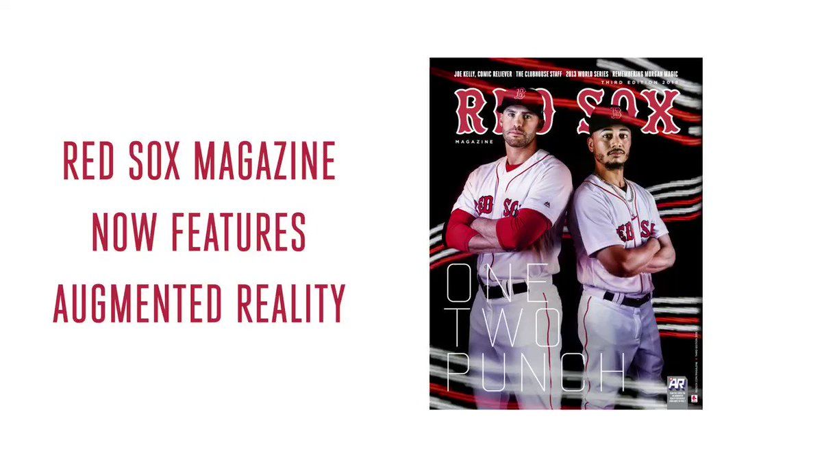 Unlock special AR video features using your phone in this issue of #RedSox Magazine! https://t.co/BrsiCSAwWJ https://t.co/0ItRnuoJXO