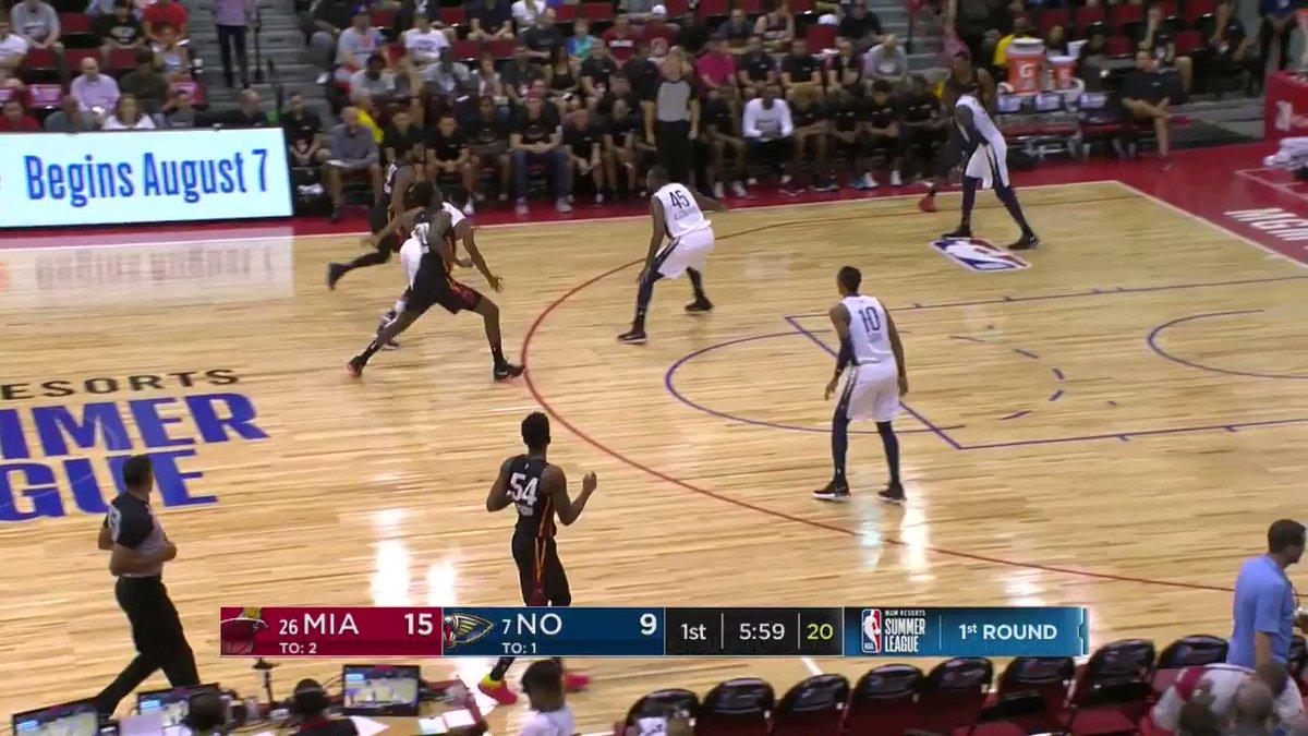 Landry Nnoko flushes it home!  #NBASummer https://t.co/Vc0dmP82cA
