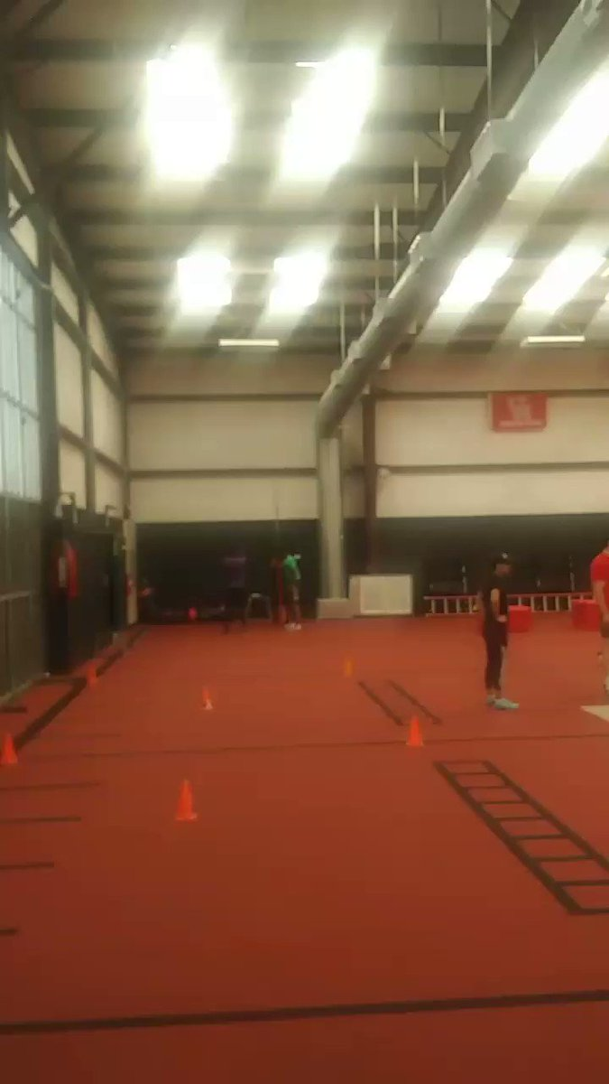 """30"""" Vertical Jump at Redline Athletics. At the top of the leaderboard! #itrainhardlikeistudy #thetruth"""