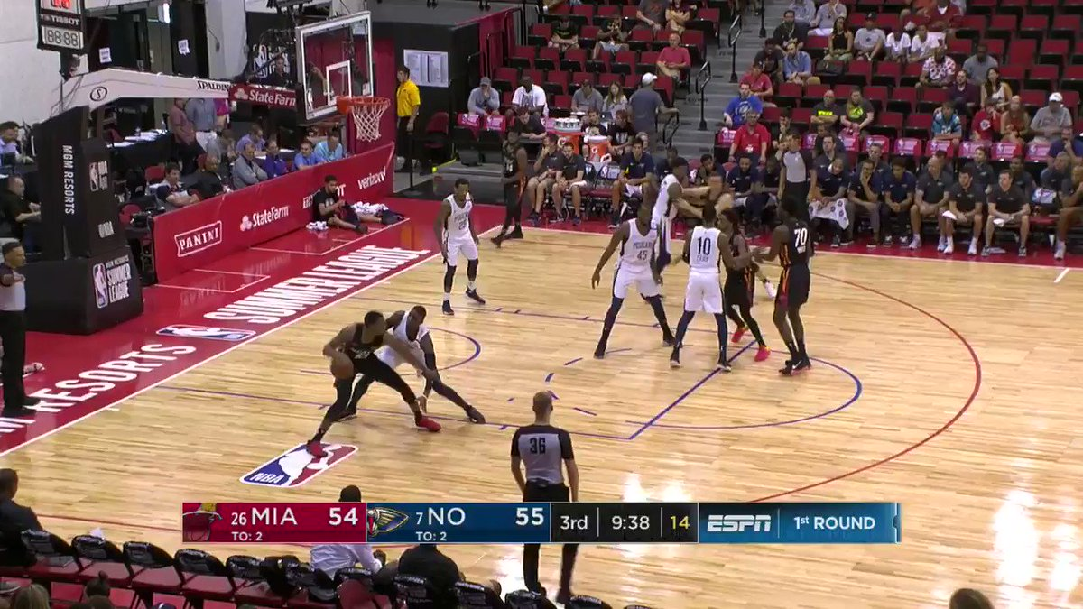 Jarrod Jones knocks down the fadeaway jumper to start the second half!  #NBASummer on @NBATV https://t.co/EriwgRk5kk