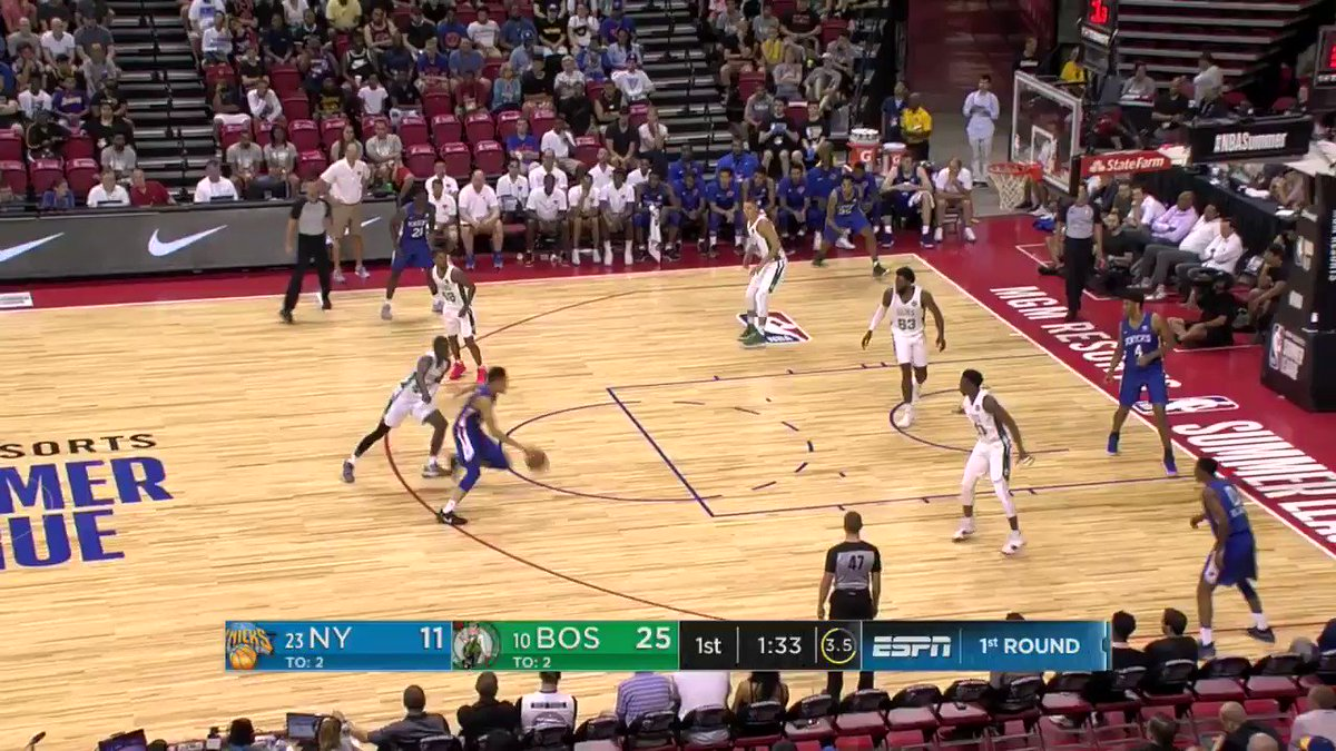 Kevin Knox to the rim! ��  #NBARooks in #NBASummer https://t.co/bgv9NUkecm