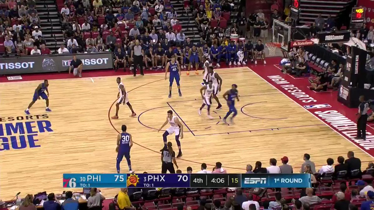 Korkmaz crossover, fadeaway!  #NBASummer https://t.co/uZ1oqU4OWI