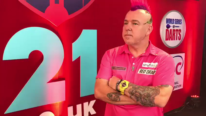 We caught up with Peter Wright ahead of the big event @DartsShanghai @OfficialPDC @matchroomsport #snakebitewright #shanghaidartsmasters #standupifyoulovedarts