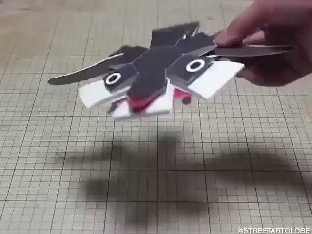 Some of Japanese designer Haruki Nakamura amazing interactive paper toys.