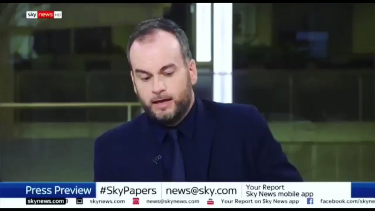 """The anti-Trump demo just felt like a howl of middle-class rage. There was no clear demand, no clear chants. This was people making a loud public demonstration of their own virtue. It felt more narcissistic than political."" Brendan O'Neill on Sky last night"