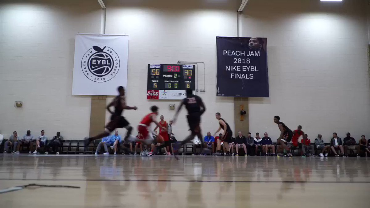 Love getting to hit Peach Jam and check out the future of the NBA. Full video up now youtu.be/TI-EFKfQ978
