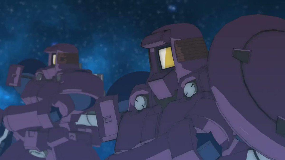 L.O.ブースターに続き、「ガンダムアスクレプオス」も映像作成しました! ゲテモノガンダムをしかと堪能せよ!! #Gユニット
