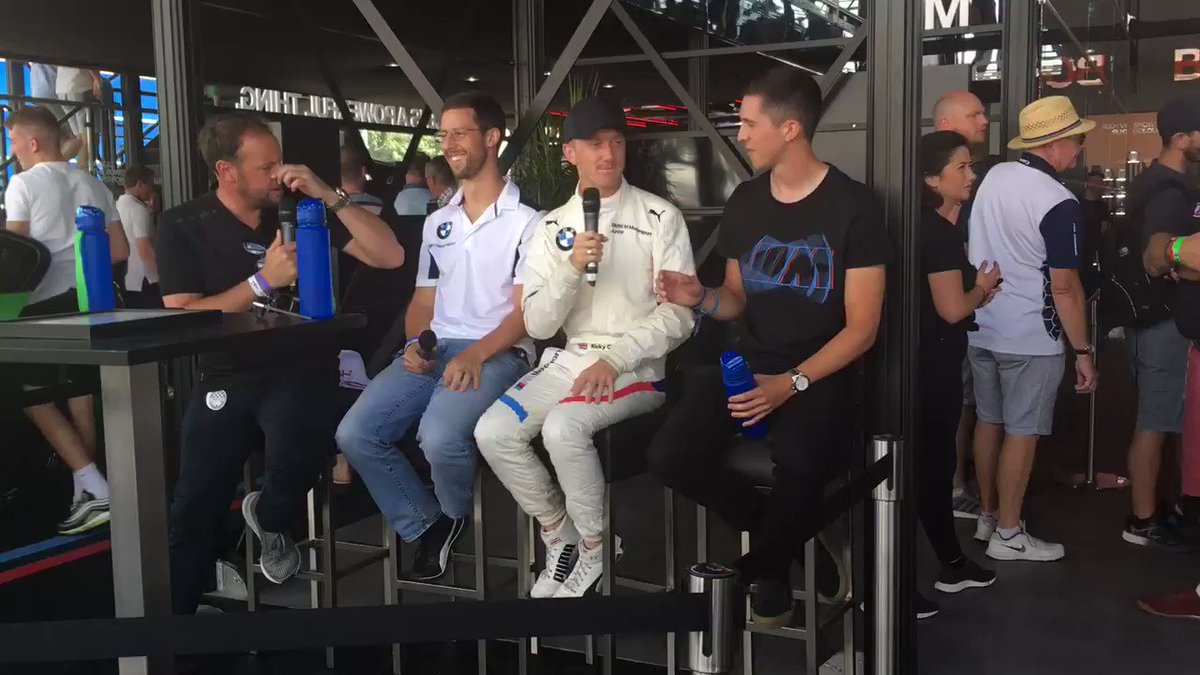 Great day @fosgoodwood with @BMW_UK driving the 8 series and interviews with @PaulONeill29, @RickyCollard and @AlexanderSims! Thanks to new partners @CambridgeBMW, and great to have Trafalgar with us too! Can't wait to get back tomorrow! #TeamBTR #BMWUK #FOSGoodwood