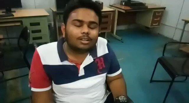 Student with Disability (Divyang) is sharing his views on undergoing Basic Computer Skill Training at NHFDC Skill Training Centre ,Faridabad @nhfdcindia @Disabilitygov @TCGEHLOT @MSJE_AIC