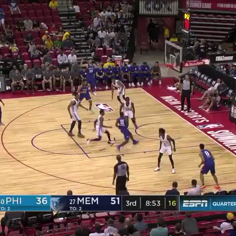 Jaren. Jackson. Jr. Loves. Blocking. Shots.   #NBASummer https://t.co/2GiSwbDwgZ
