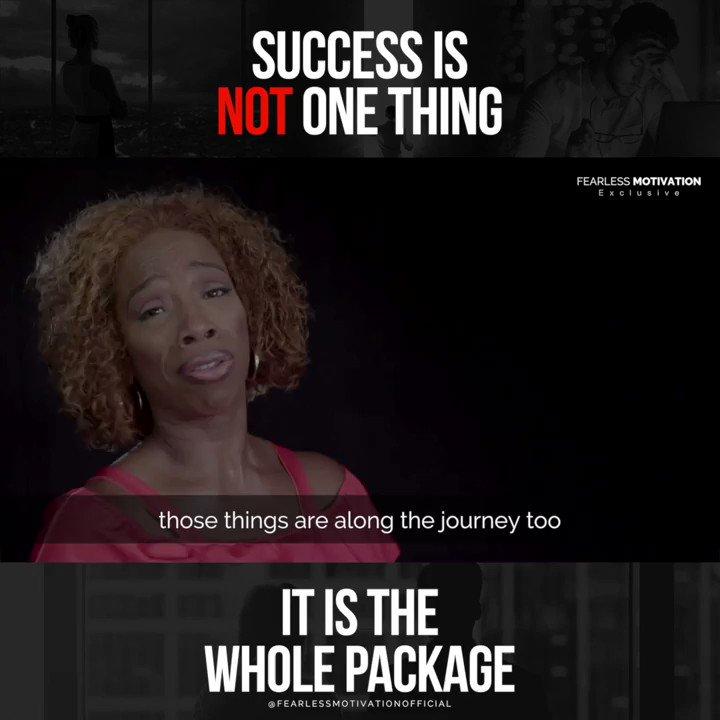 SUCCESS is having it ALL! @2motivate Full video: buff.ly/2NHloYR