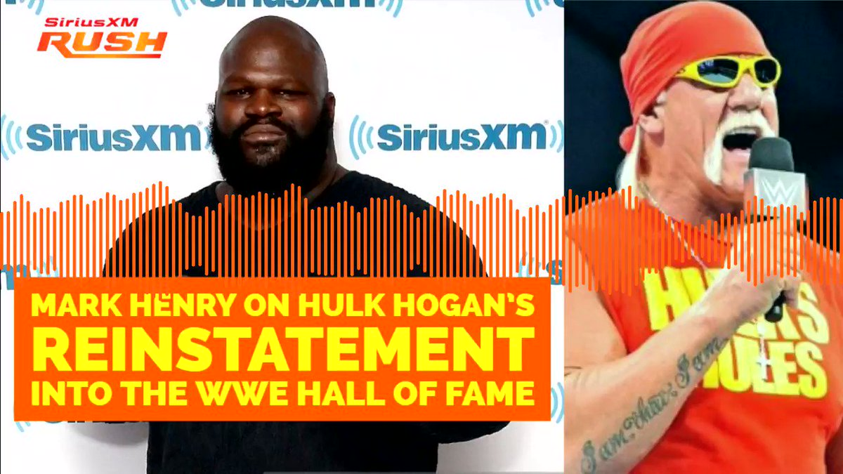 If hes willing to do the work, Im willing to help. @TheMarkHenry on @HulkHogan reinstatement into the #WWEHOF @davidlagreca1