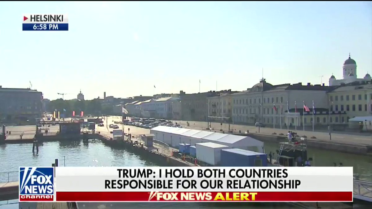 Fox News harshly criticized President Trump after his meeting with Russian President Putin. https://t.co/0YGvin80Jq https://t.co/GjvYF674GZ