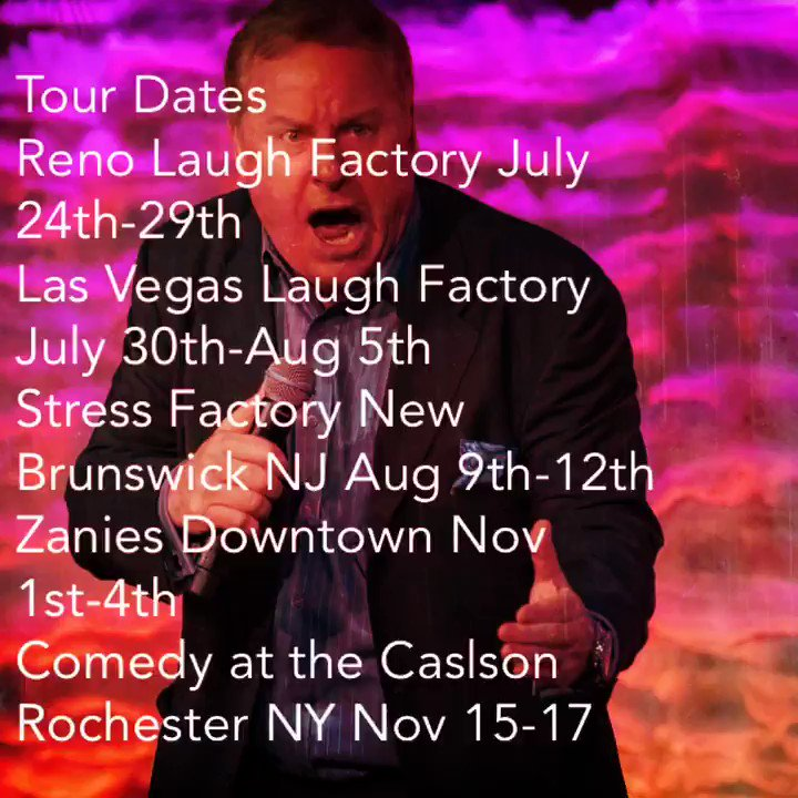 Image for the Tweet beginning: Some up coming tour dates