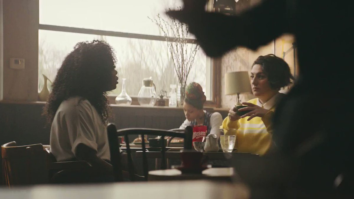 Yes, @kelechnekoff in the new @MaltesersUK ad! Get it girl 👊🏿