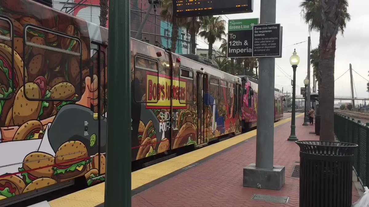 Image for the Tweet beginning: .@Comic_Con is coming. @sdmts #SDCC2018