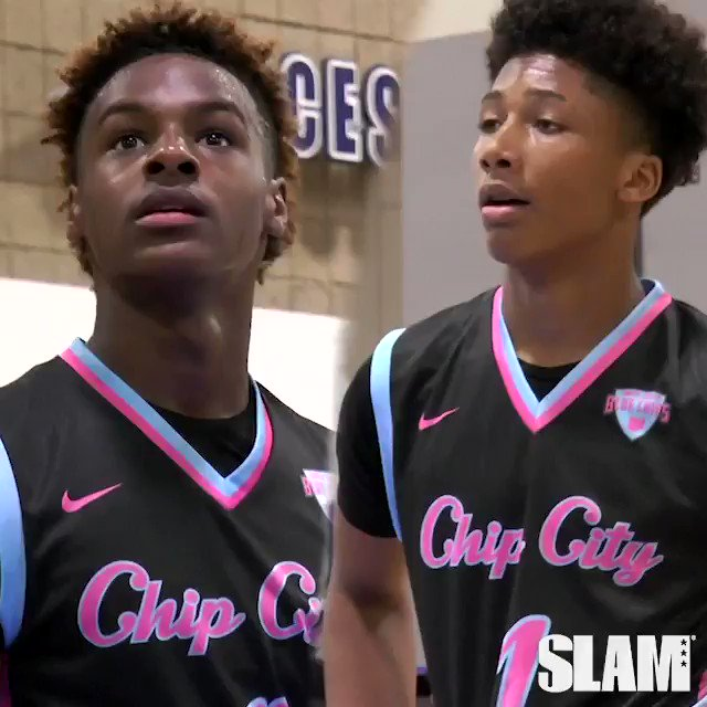 Bronny James and Mikey Williams razzled and dazzled at day