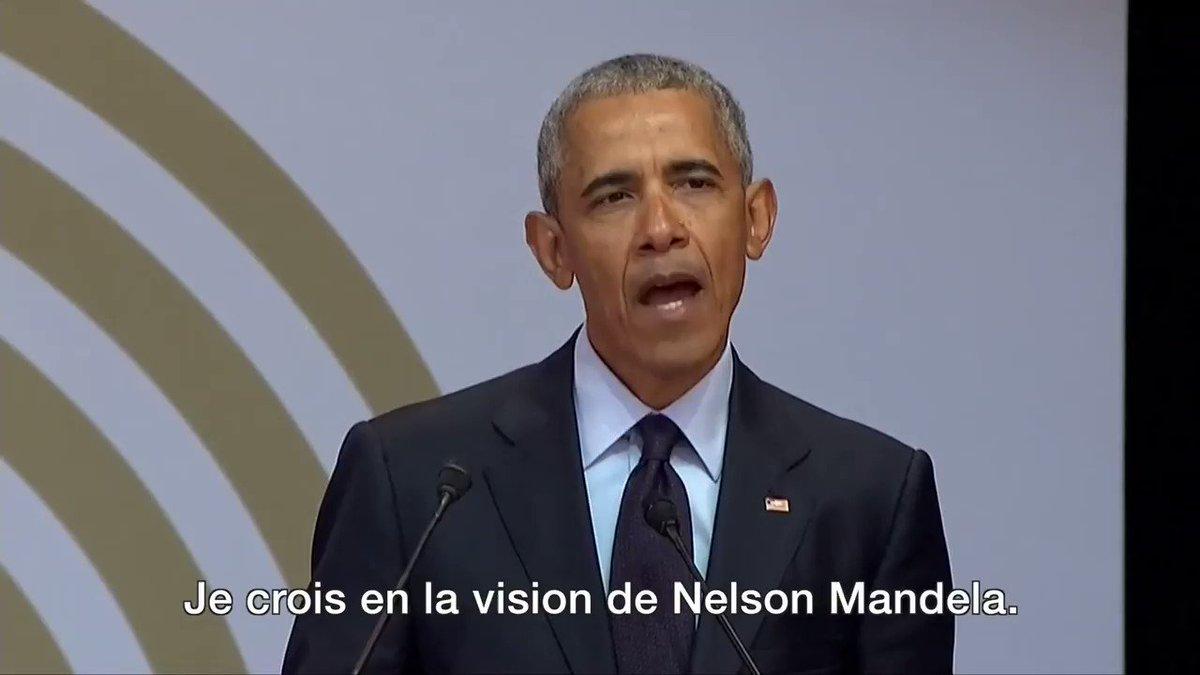 """Image for the Tweet beginning: Barack Obama - """"Je crois"""