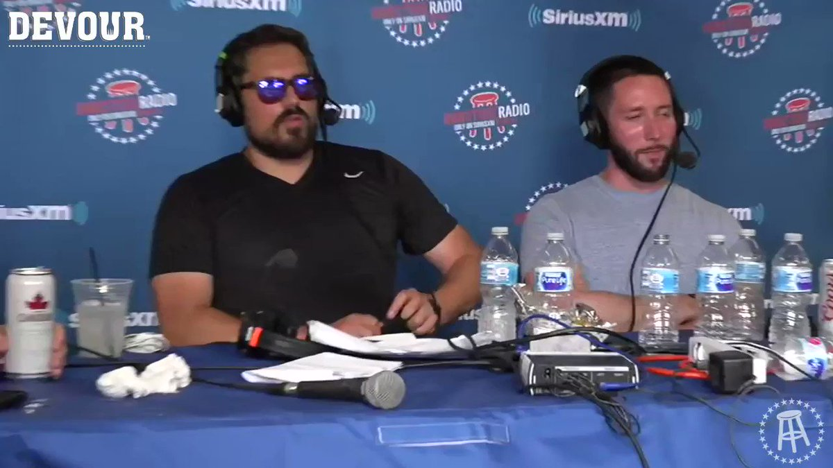 THE BIG MAN SULLY the star of Barstool Radio today