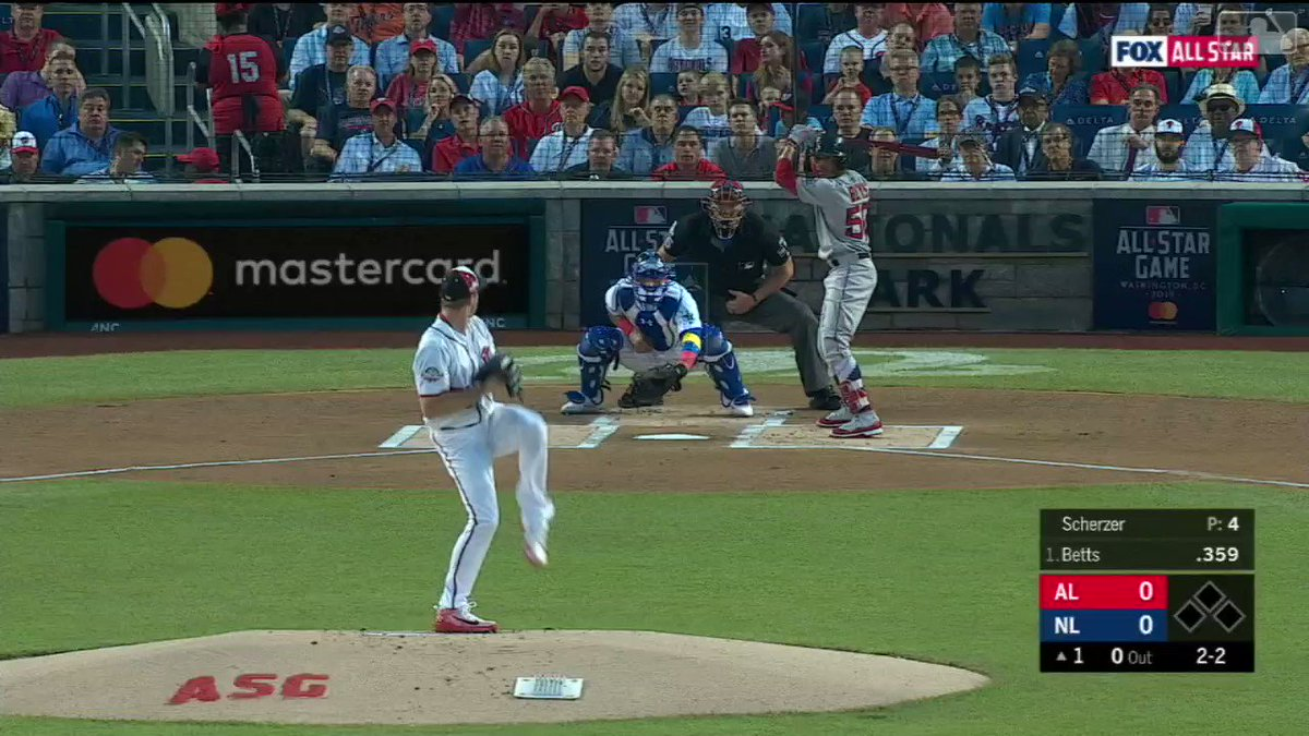 Congratulations to All-Star Max Scherzer on striking out 4 batters in tonight's #AllStarGame https://t.co/xKuL9q5PSA
