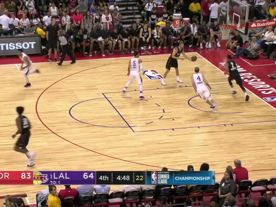 Vegas Summer League MVP Josh Hart got ejected in the 4th quarter of the Championship. https://t.co/itYuzDkjwf
