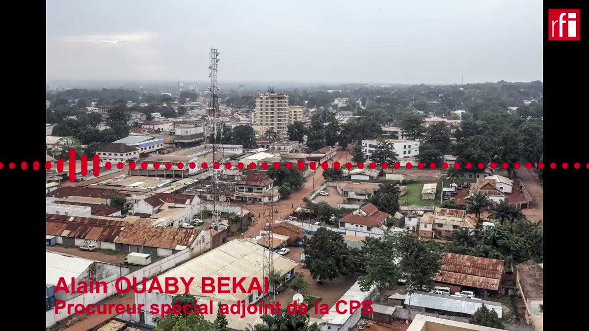 Image for the Tweet beginning: 🇨🇫 Centrafrique: lancement de la