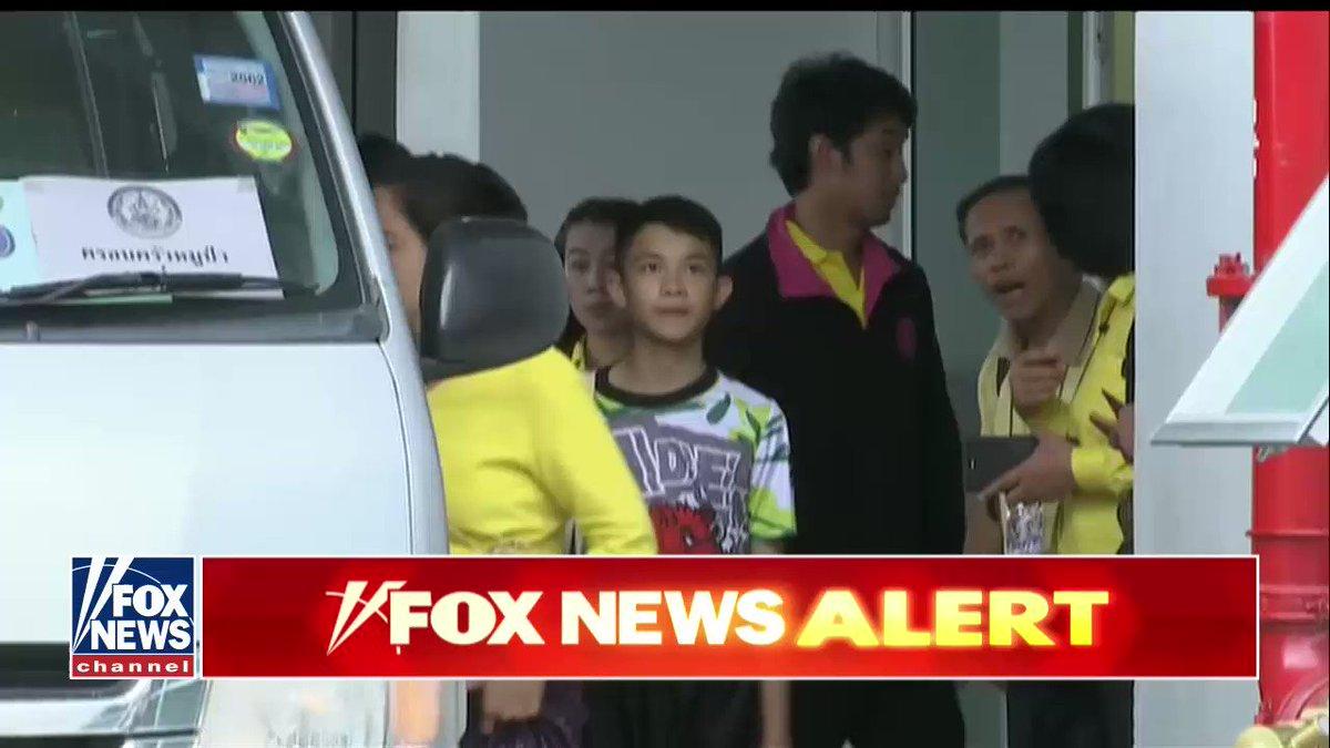 Thai soccer team released from hospital https://t.co/4vyAASLsvZ