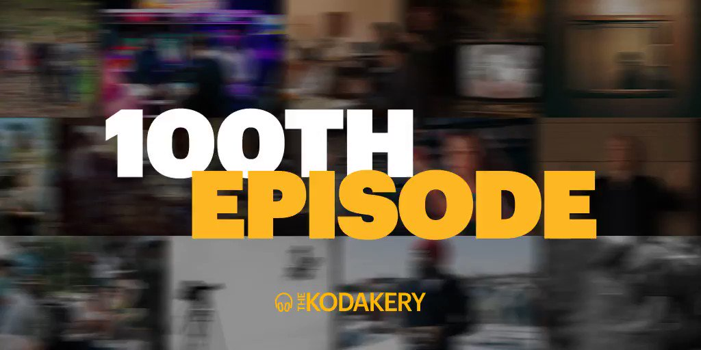 Listen to a special 100th episode where we look back at some of our favorite moments so far on #TheKodakery podcast.  https://t.co/4CLK0cEKfS