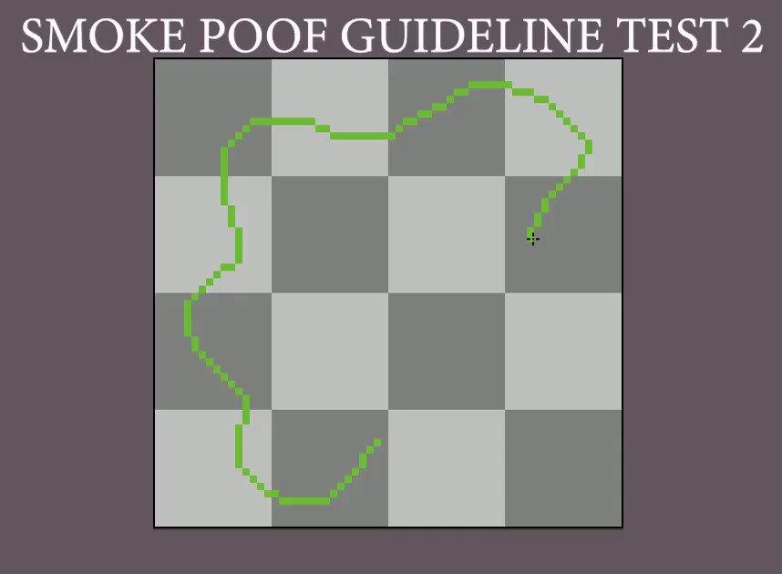 Testet the segment smoke poof trick with more segments. #aseprite #pixelart #gamedev
