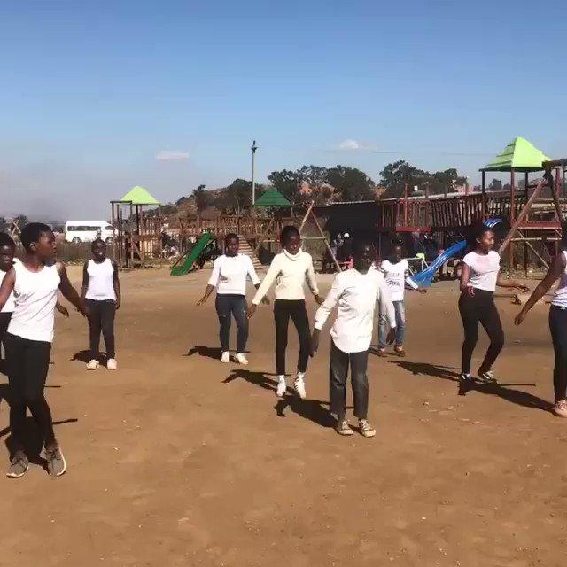 Amazing group from South Africa performing to celebrate Mandela's life #mandela100