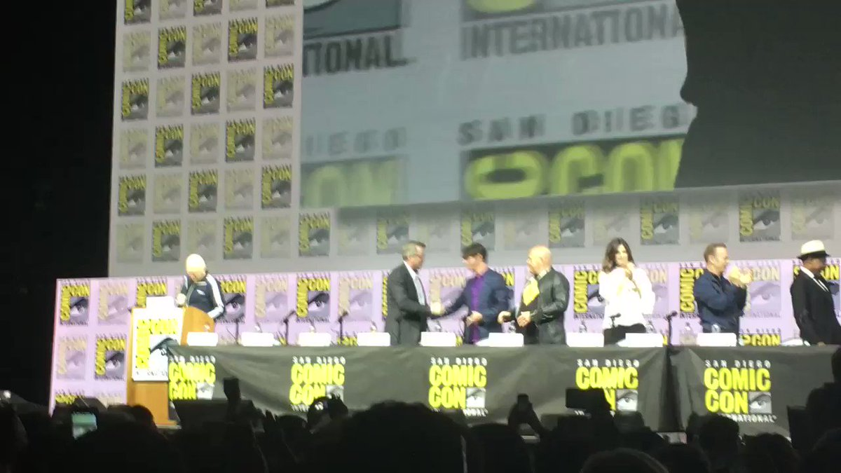 #BreakingBad reunion at #SDCC