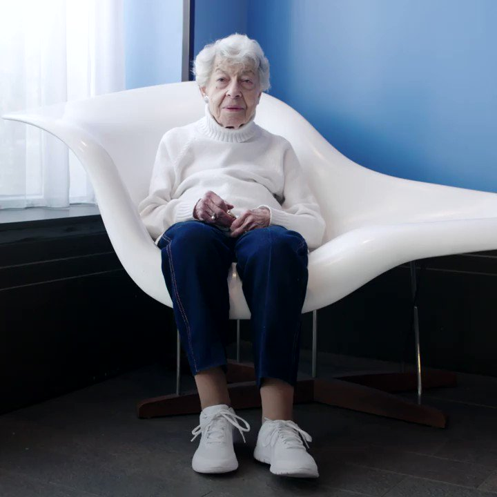 This woman is a 96-year-old vegan