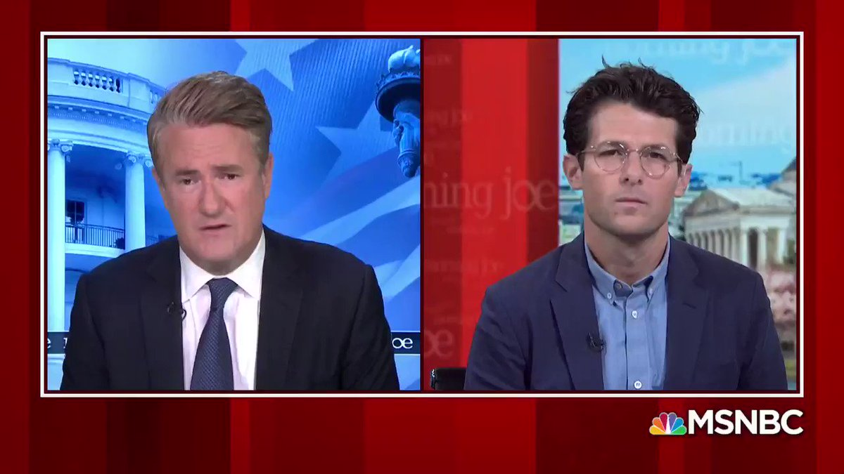 Told @JoeNBC about most shocking news in the latest numbers of still-separated kids: over 1/3 of parents *arent eligible* for reunification. And @jheil asked critical question about points we must keep demanding answers on -- like already released parents and deported families.