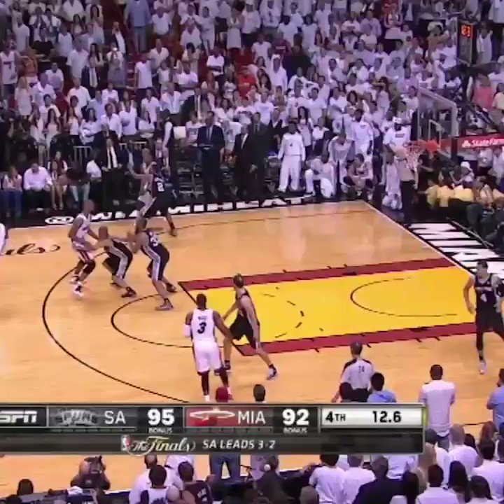 Ray Allen, who delivered one of the biggest shots in NBA Finals history, turns 43 today. https://t.co/eNgPDBJwgb
