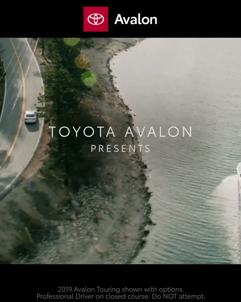 Tag, youre it! The all-new 2019 #Avalon has arrived: toyota.us/2LpXbrJ