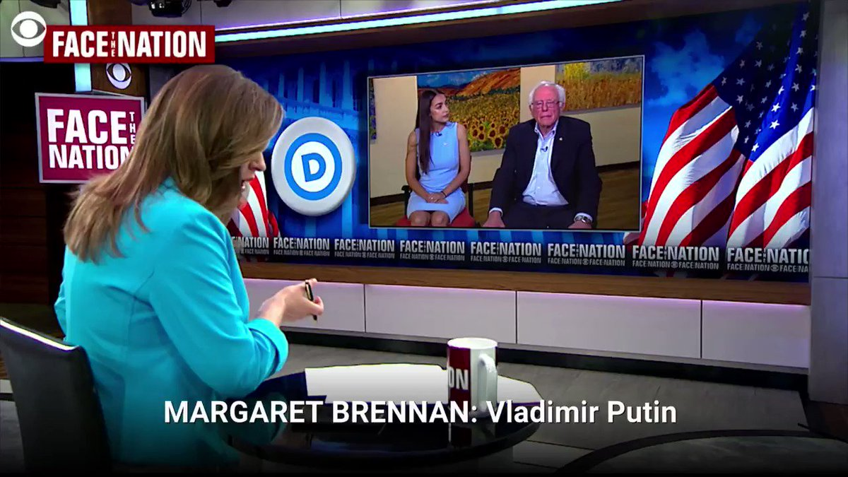 WATCH: Perhaps also, you have a president who really does have strong authoritarian tendencies and maybe he admires the kind of government that Putin is running in Russia, @SenSanders tells @margbrennan cbsn.ws/2JH3PFl