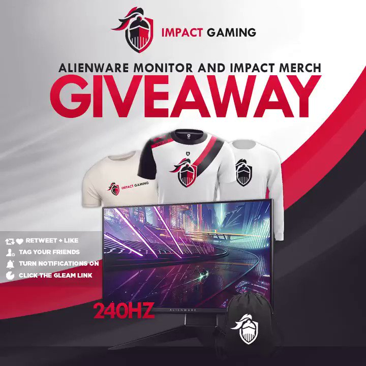 🚨 GIVEAWAY 🚨  🎁 Alienware 240hz Monitor 🤗 Tag Your Friends ❤️ Retweet, Like & Follow 🖱️ Click Here To Enter: http://vast.mx/IGJLGA  #JoinTheEmpire #ImpactStrong