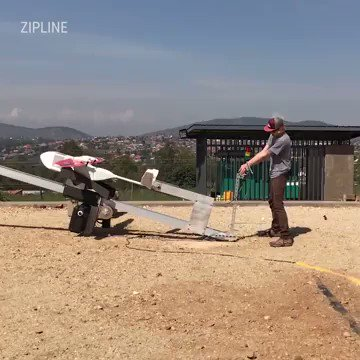 A #drone that saves lives by delivering #blood units to the #hospitals v/ @zipline @techinsider @OpenFaceMedia  @evankirstel @IrmaRaste @HealthcareLdr @sminaev2015 @jblefevre60 @mclynd @JGrobicki @MikeQuindazzi  #technology #drones #robotics #healthtech https://t.co/YUv92tb9Hp