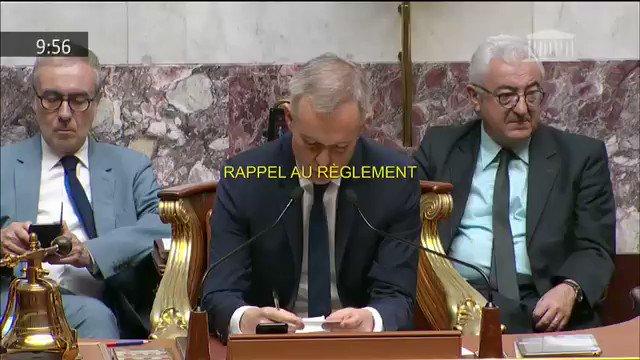 Castaner refusant toujours de répondre aux questions des députés depuis des jours, Alexis Corbière demande si Castaner est le Ministre des relations avec le Parlement ou le Ministre des relations avec la buvette ! #DirectAN #Benalla