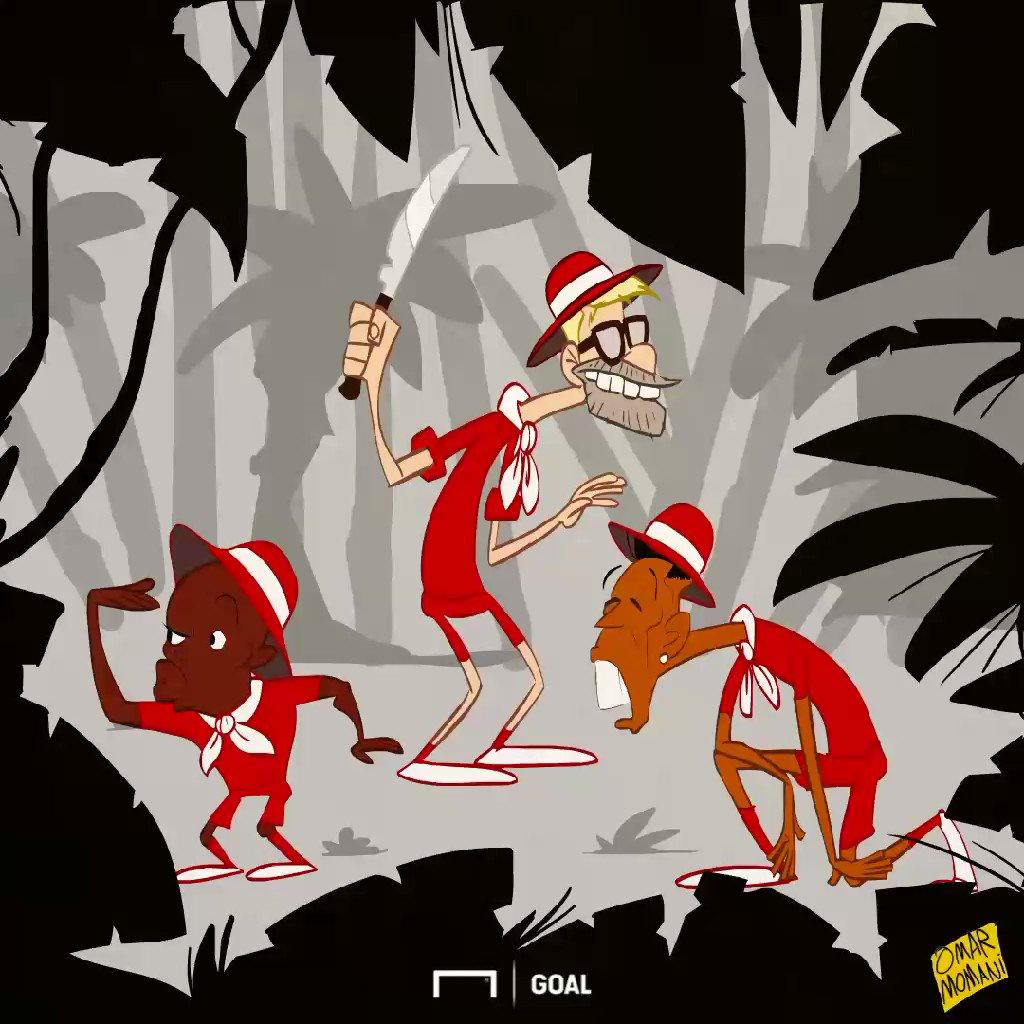 Mo Salah has the greatest chest rug since Ryan Giggs! 😂 صلاح وأعظم شعر صدر من ايام ريان جيجز #salah #mane #Klopp #firmino #lfc #liverpool #omarmomani