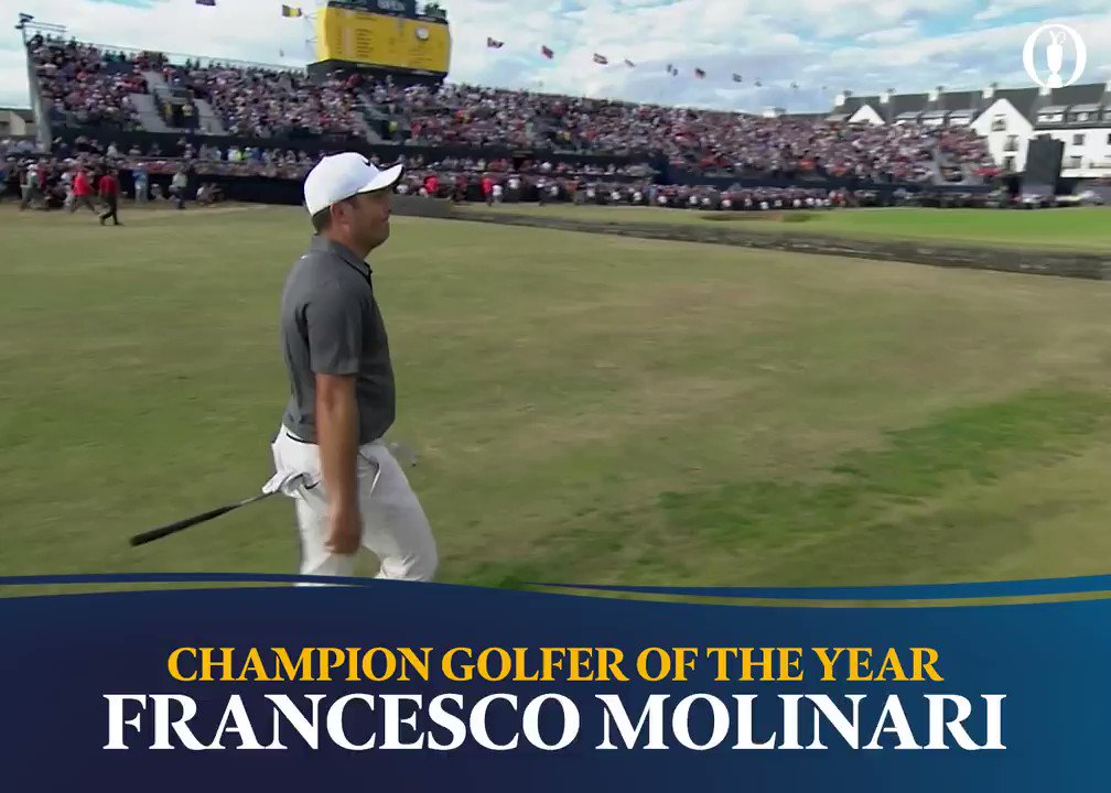 The first ever Italian Major Champion 🇮🇹 #TheOpen