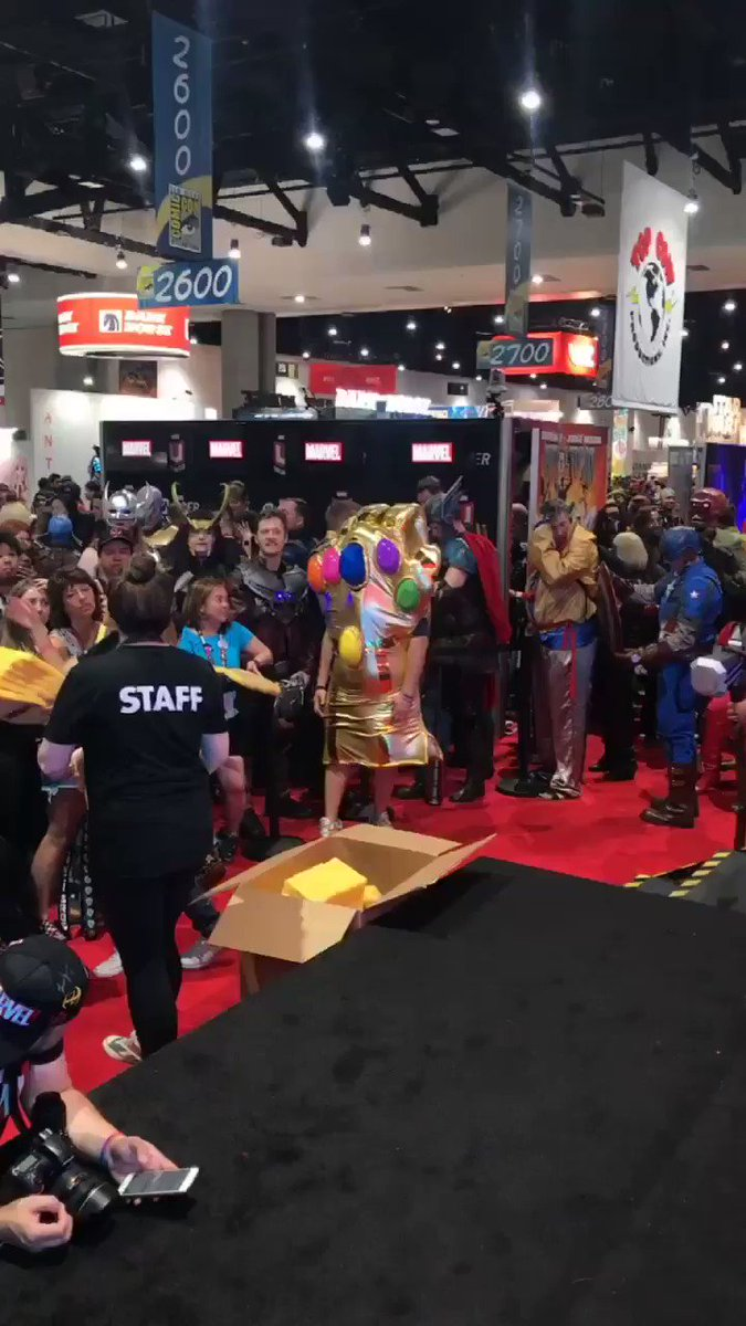 Caption this. #MarvelSDCC https://t.co/DUSeRtuYd7