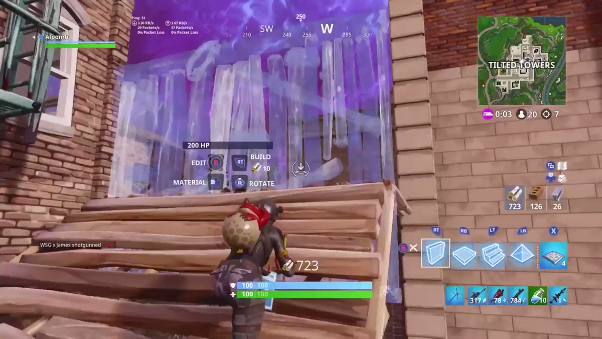 he probably doesnt even know what just happened lmao. #FortniteSeason5 #FORTNITE