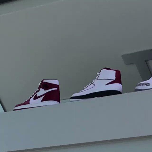 .@ou_athletics Air Jordan 1 through 30 collection. 🎥: @cliffbruntap