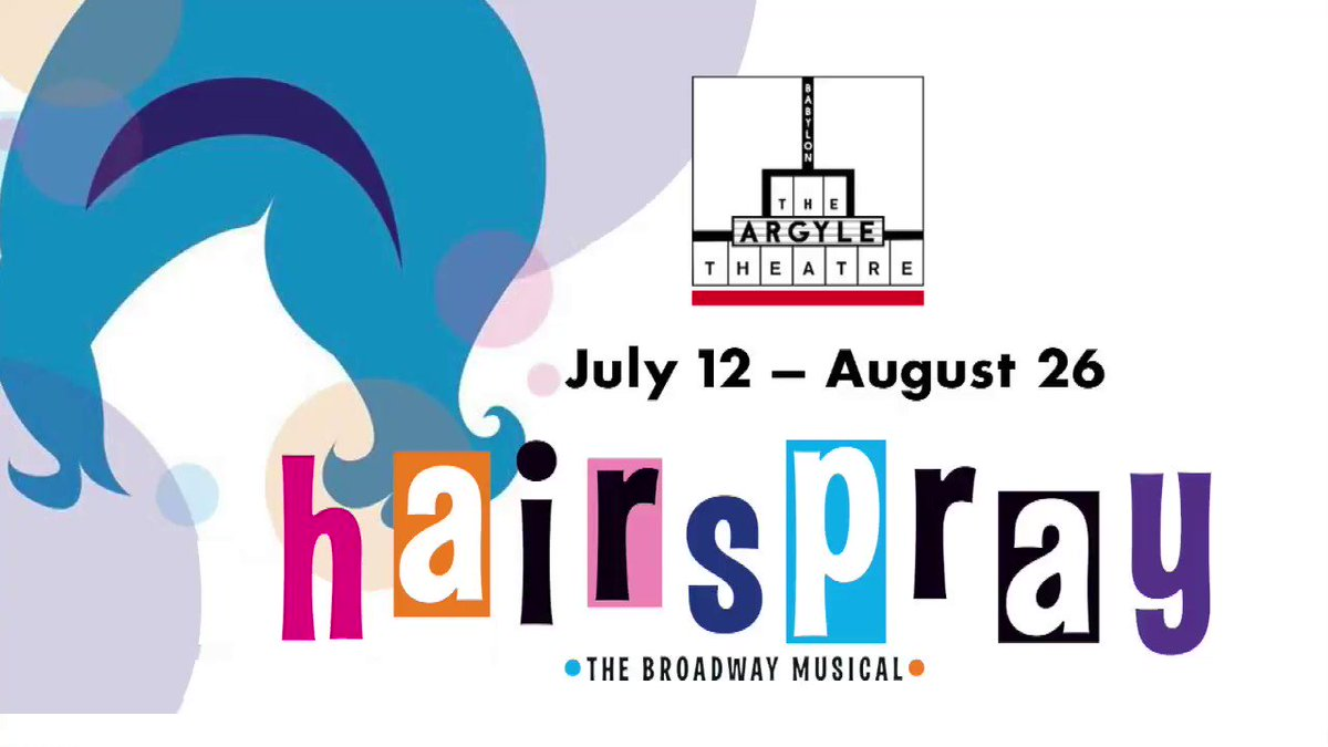 Check out HAIRSPRAY running now through August 26th at The Argyle Theatre at Babylon Village  All of Long Island Can't Stop The Beat in this Magically Breathtaking Performance of HAIRSPRAY
