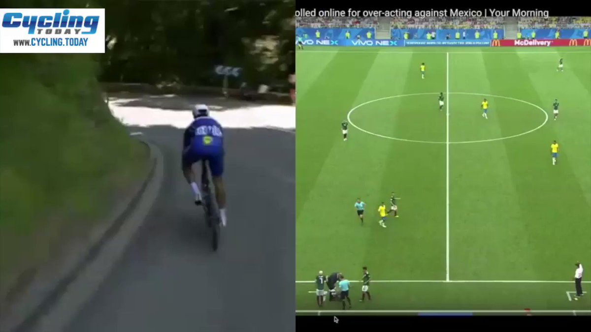 Cycling vs. Football - Can You Spot The Difference?