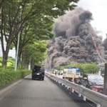 東京都多摩市唐木田で火災が発生!黒煙が立ち上る現場の衝撃の映像!