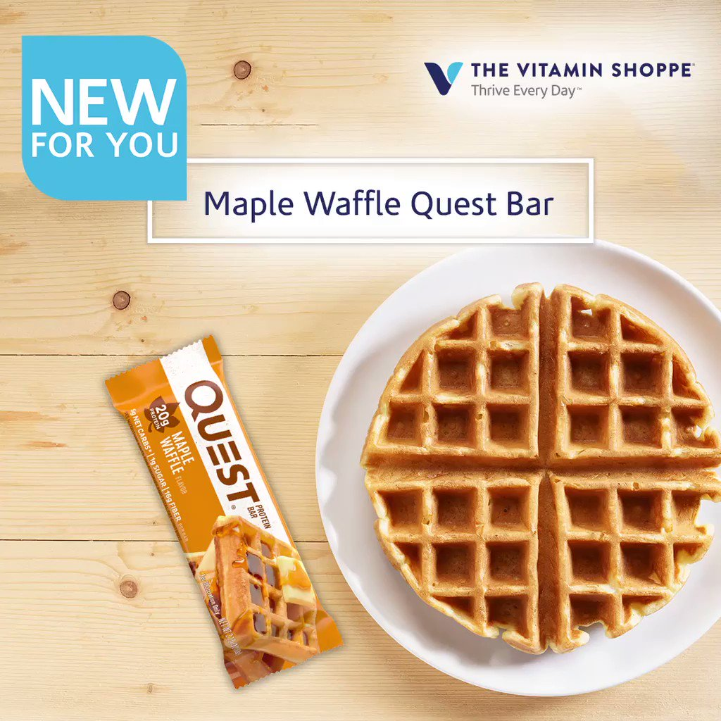 The Vitamin Shoppe On Twitter There S A New Questnutrition Bar In