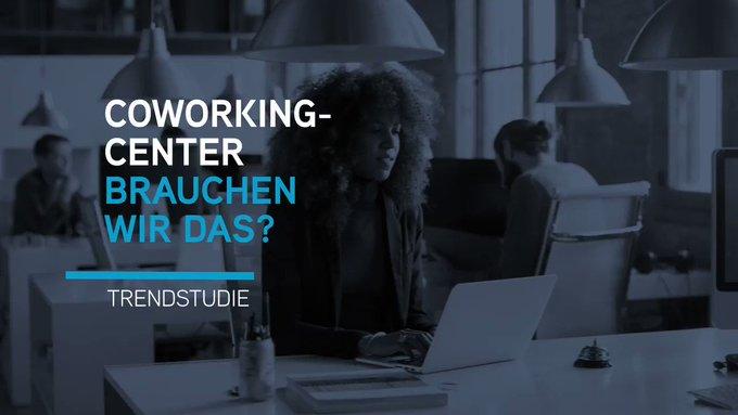 Trendstudie &quot;Coworking Center - brauchen wir das?&quot; <br>Erste Insights zu den Ergebnissen der Studie gibt es hier im #Video #coworking #trends t.co/MXxDTFVieX