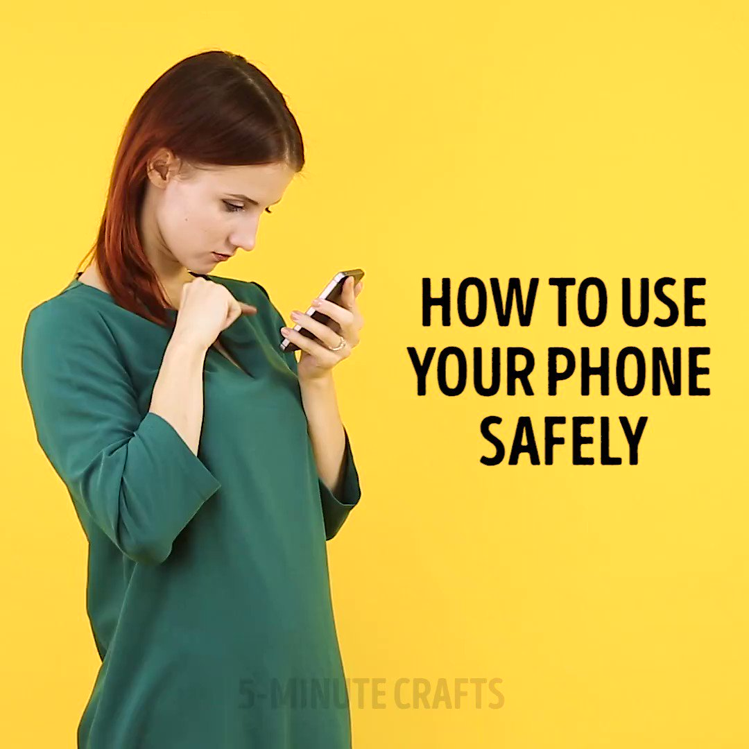 How to use your phone safely